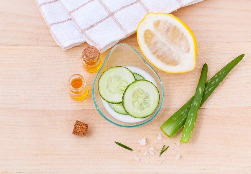 castravetii in topul ingredientelor pentru masti faciale